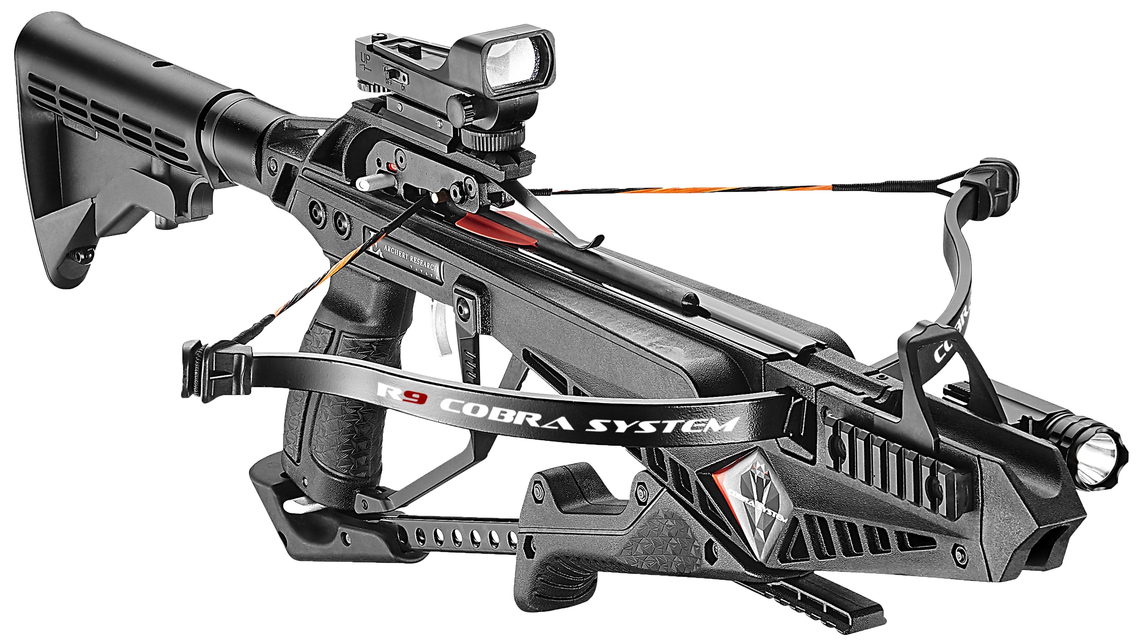 Nieuw! De Cobra R9 van EK Archery