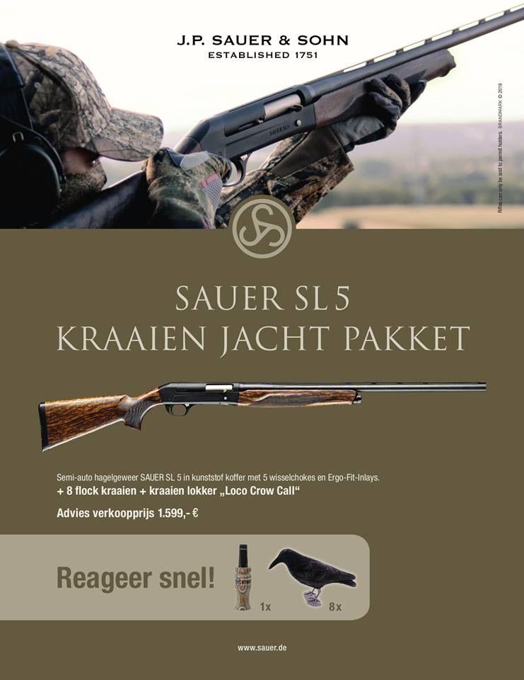 Sauer SL5 kraaien pakket