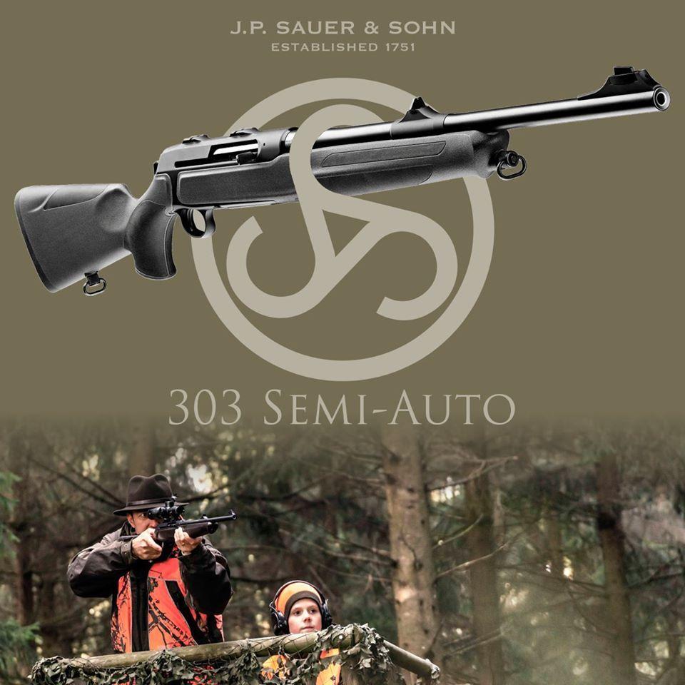 De nieuwe Sauer 303 semi-auto